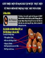 Hướng dẫn sử dụng phần mềm Potatoes
