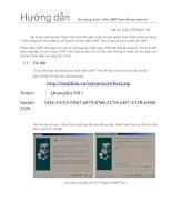 Hướng dẫn sử dụng phần mềm SWFTEXT để tạo banner