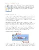Chinh phục Word 2007 (Phần 1)