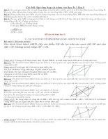 các đề toán lớp 8 dành cho hoc sinh mức cao