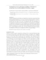 Estimation of river discharge loadings of PAHs in a suburban river in Hiroshima Prefecture, Japan
