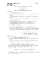 Chuyên đề bồi dưỡng Vật lý 8 ( phần 1)