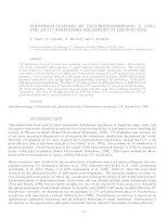 PHOTOREACTIVATION OF ENTEROHEMORRHAGIC E. COLI, VRE AND P. AERUGINOSA FOLLOWING UV DISINFECTION