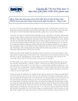 Đề 2: Phân tích tâm trạng chị em Liên đêm đêm cố thức để được nhìn chuyến tàu đi qua phố huyện trong truyện ngắn Hai đứa trẻ - Thạch Lam
