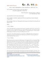 ĐỀ VÀ GỢI Ý THAM KHẢO CÁCH LÀM ĐỀ SỐ 2 - MÔN NGỮ VĂN