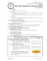 Tiết 11 - Tin học 10