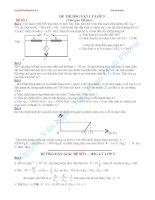 Bộ đề học sinh giỏi vật lý 9