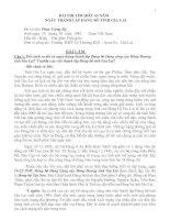 BÀI DỰ THI TÌM HIỂU 65 ĐẢNG BỘ TỈNH GIA LAI