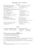 TRANSCRIPT TAPE-E7( J )