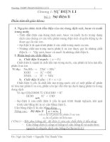 bài tập hóa 11 học kì 1