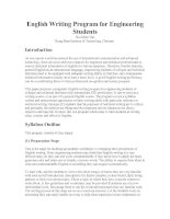 English Writing Program for Engineering Students.doc