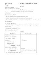 Giáo án lớp 5 (Tuần 3)