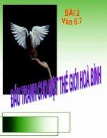 Bài- Văn 6.7: Đấu tranh cho một TGHB