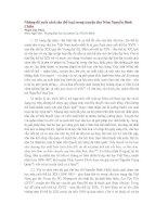 Những đề xuất cách tân thể loại trong thơ Nôm Nguyễn Đình Chiểu