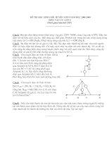 ĐỀ THI HSG VẬT LÍ 9 (Đề 10)