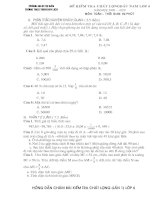 Đề kiểm tra đầu năm lớp 6 môn toán 2009-2010