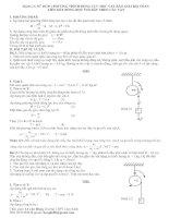 Dạng 4: Sử dụng phương trình động lực học trong chuyển động quay của vật rắn đẻ giải các bài toán dòng dọc liên kết với sợi dây
