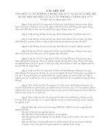 10 câu hỏi dự thi luật phòng chống ma tuý