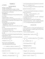 Ôn tập vật lý 12 - Dao động cơ
