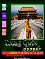 Bài 4 tiết 5 Trung Quốc thời phong kiến.