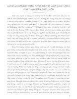 HUYỆN VỤ BẢN ĐẨY MẠNH TUYÊN TRUYỀN LUẬT GIAO THÔNG CHO THANH NIÊN.doc