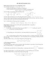 17 đề thi Đại học có đáp án