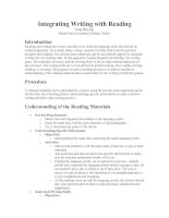 Integrating Writing with Reading.doc