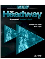 New headway advanced test book advanced teacher's book new english course amanda maris