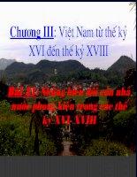 Bai 21  Nhung bien doi cua nha nuoc phong kien trong cac the ky 16-18