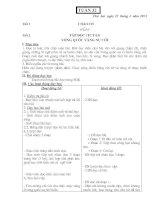 Giáo án tiểu học tuần 31