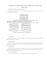Phần II Các công nghệ sử dụng trong hệ cơ sở dữ liệu phân tán
