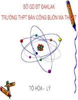 Tiết 5: Hạt nhân nguyên tử, nguyên tố hóa học, đồng vị