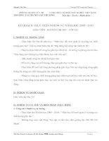 Bài thu hoạch 8 chuyên đề BD CBQL trường phổ thông