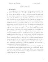 ĐÁNH GIÁ sự hài LÒNG của KHÁCH HÀNG đối với CHẤT LƯỢNG PHỤC vụ của bộ PHẬN lễ tân tại KHÁCH sạn DUY tân HUẾ
