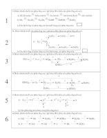 Bài tập về chuỗi biến hóa chương OXI -LƯU HUỲNH LỚP 10CB