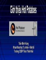 Giới thiệu phần mềm Hot Potatoes
