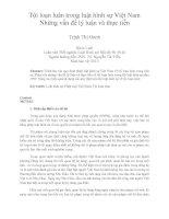 Tội loạn luân trong luật hình sự Việt Nam  Những vấn đề lý luận và thực tiễn