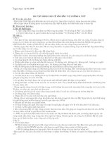 GIÁO ÁN TỰ CHỌN - NGỮ VĂN 12 (ĐẦY ĐỦ)