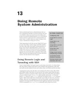 Doing Remote System Administration