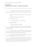 Bài tập thực hành tuần 7 – Bài tập về kế thừa