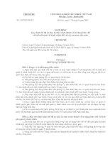 NGHI DINH 130 Quy định chế độ tự chủ, tự chịu trách nhiệm về sử dụng biên chế