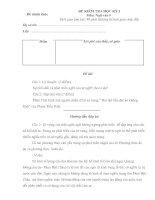 Đề thi văn 9 kỳ I-đáp án