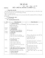 Giáo án lớp 4(tuần 8)