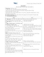 Giáo án lớp 4-Tuần 2