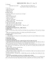 BÀI VIẾT SỐ 7- LỚP 10
