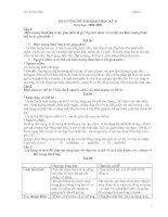 Đề cương ôn thi HK2- Sinh học 9