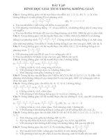 hình học ôn thi đại học
