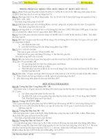 Bài tập lấp CTPT  (vô cơ)
