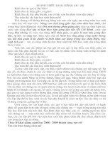 Bài phát biểu khai giảng (HS)