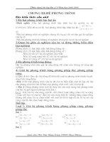 Chuyên đề hệ phương trình